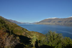 Lake Wanaka, New Zealand Royalty Free Stock Photo