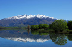 Lake Wanaka - Reflection Royalty Free Stock Photos