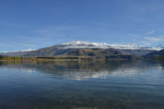Lake Wanaka reflection Stock Photos