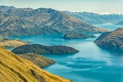 Lake Wanaka stock image