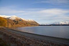 Lake Wanaka, South Island Landscape, New Zealand. Lake Wanaka landscape, South Island, New Zealand Stock Photo