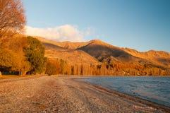 Lake wanaka. In the South Island New Zealand Royalty Free Stock Image