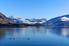 Lake Wanaka,South Island New Zealand. Royalty Free Stock Photography