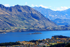 Lake Wanaka,South Island New Zealand. Stock Image