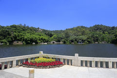 Lake of wanshi botanical garden Stock Photo