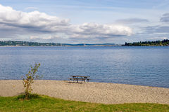 Lake Washington scenic Stock Photography