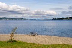Lake Washington scenic Stock Photography
