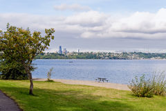 Lake Washington Seattle Stock Image