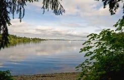 Lake Washington Seattle stock photos