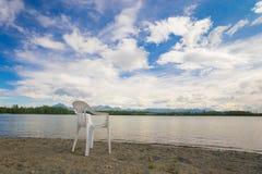 Lake in Wasilla Alaska Royalty Free Stock Image