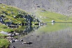 Lake. Water reflexion on a lake Royalty Free Stock Image