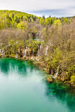 Lake And Waterfalls-Plitvice National Park,Croatia Royalty Free Stock Photography