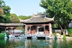 The lake waterside pavilion stock photos