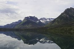 Lake Waterton Royalty Free Stock Image