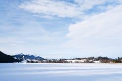 Lake Weissensee Bavaria Royalty Free Stock Photos