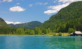 Lake Weissensee,Carinthia,Austria Stock Images