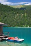 Lake Weissensee,Carinthia,Austria Royalty Free Stock Photos