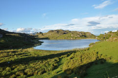 Lake in west cork, Ireland Royalty Free Stock Images