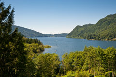 Lake Whatcom Stock Photo