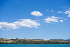 Lake whit blue sky. Royalty Free Stock Photo