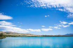 Lake whit blue sky. Stock Image