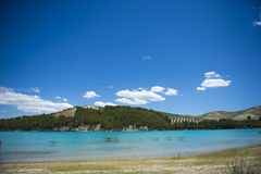 Lake whit blue sky. Stock Images