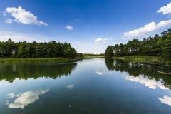 Lake Wigry National Park. Poland Stock Photos