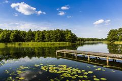 Lake Wigry National Park. Poland Royalty Free Stock Photography