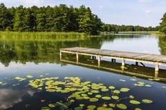 Lake Wigry National Park. Poland Royalty Free Stock Photo
