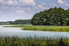 Lake Wigry National Park. Poland Royalty Free Stock Photo