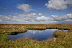 Lake on Wild Boar Fell Stock Photo