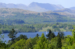 Lake Windermere Royalty Free Stock Photography