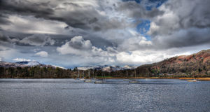 Lake windermere Royalty Free Stock Image