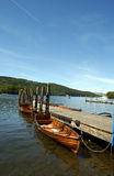 Lake Windermere. Boats on Lake windermere Royalty Free Stock Image