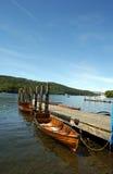 Lake Windermere. Boats on Lake windermere royalty free stock image