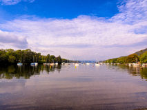 Lake windermere Stock Photography