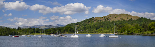 Lake Windermere in the British Lake District Stock Photo