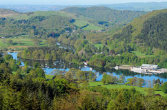 Lake Windermere from Gummers How Stock Photo
