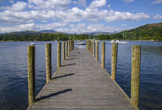 Lake Windermere Jetty Royalty Free Stock Photo