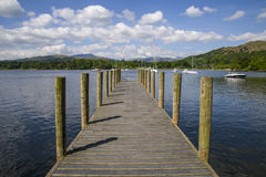 Lake Windermere Jetty Stock Photography