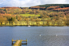 Lake Windermere Pier Royalty Free Stock Images