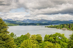 Lake Windermere from the South Stock Image