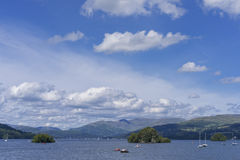 Lake Windermere, view from Bownness-on-Windermere Stock Image