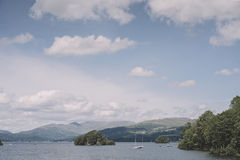 Lake Windermere, view from Bownness-on-Windermere Stock Photos