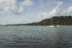 Lake Windermere, view from Bownness-on-Windermere Stock Photography