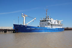 Lake Winnipeg Research Vessel Stock Photography