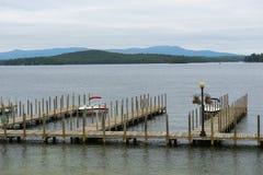 Lake Winnipesaukee in Weirs Beach, NH, USA