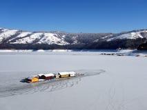 Lake winter royalty free stock images