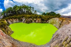 Free Lake With Green Opaque Water Royalty Free Stock Photography - 129507377