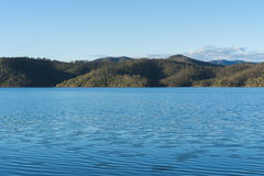Lake Wivenhoe in Queensland during the day royalty free stock images